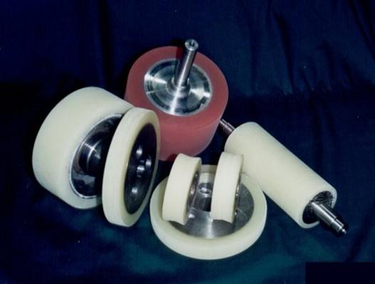 각종 가이드로라 코팅 및 가공 (Guide roller casting & production)